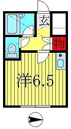 コーポ逆井[112号室]の間取り
