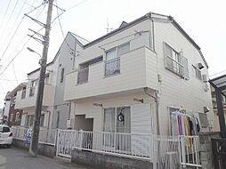 千葉県千葉市花見川区花園4丁目の賃貸アパートの外観