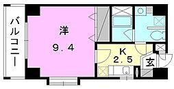メルシーコート湊町[202 号室号室]の間取り