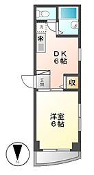 サンレモガーデン[3階]の間取り