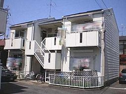 愛知県名古屋市守山区新城の賃貸アパートの外観