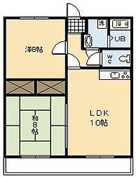 セゾン・エル[303号室]の間取り