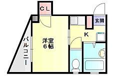 石坂ビル[2階]の間取り