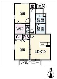 サニーソフィア A棟[1階]の間取り