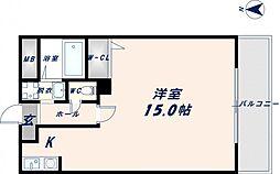 ブランチ613[1階]の間取り