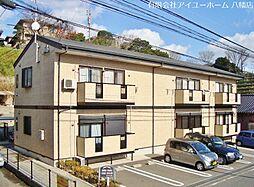 福岡県北九州市八幡西区日吉台2丁目の賃貸アパートの外観