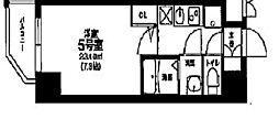 ヴァンヴェール天神橋[2階]の間取り