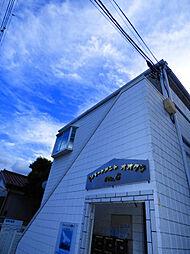 アパートメント大倉NO.6[1階]の外観