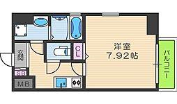 サンライト吉野II[6階]の間取り