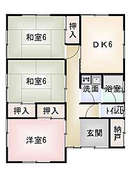 [一戸建] 三重県松阪市川井町 の賃貸【三重県/松阪市】の間取り