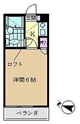 デュークガーデン金沢八景I[205号室]の間取り