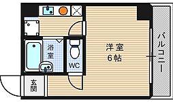 桜川レヂデンス[11階]の間取り