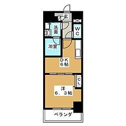 メイボーテセラ[2階]の間取り