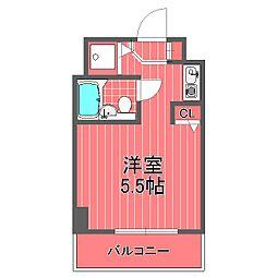 ロワレール横浜西壱番館[2階]の間取り