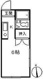 メゾングリーン[2階]の間取り