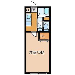プレミエールキク[2階]の間取り