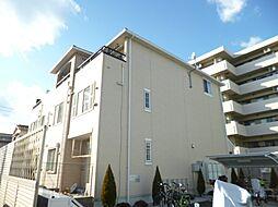 東京都国立市青柳2丁目の賃貸アパートの外観