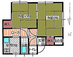[一戸建] 広島県広島市安佐南区長束3丁目 の賃貸【/】の間取り