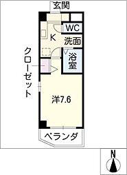 ステイ太閤[4階]の間取り