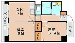 スタンドリバー松島2[3階]の間取り