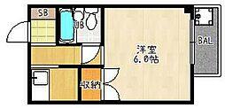 ロード[202号室]の間取り