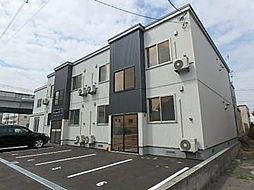 北海道札幌市東区伏古十一条2丁目の賃貸アパートの外観