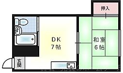 向和マンション[3階]の間取り