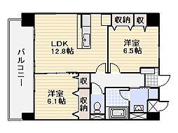 ARDIS[1階]の間取り