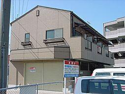 京都府城陽市長池北清水の賃貸マンションの外観