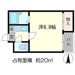エスパスY[2階]の間取り