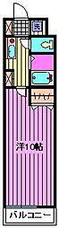 エモーショナルレジデンス[2階]の間取り