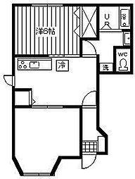 グランヴィラージュ[1階]の間取り