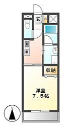 Ceres鶴舞(旧第2三恵ハイツ)[3階]の間取り