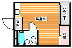 サンクレイドル[2階]の間取り