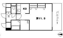クレストシティ中井町[2階]の間取り