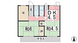[一戸建] 兵庫県姫路市大津区平松 の賃貸【/】の間取り