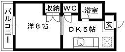 マンハイム伊藤I[301号室]の間取り
