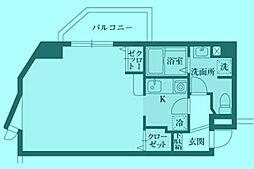 ポン・ルテェール[2階]の間取り