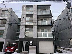 北海道札幌市中央区北四条東5の賃貸マンションの外観