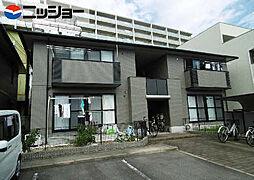 ソレイユA棟[2階]の外観