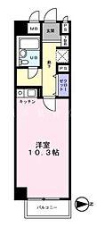 神奈川県横浜市瀬谷区瀬谷3丁目の賃貸マンションの間取り