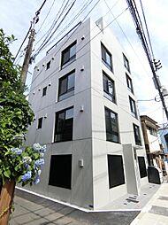 東京都北区東十条5の賃貸マンションの外観