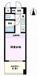 東京都八王子市明神町4の賃貸マンションの間取り