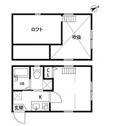 CASA MIA[1階]の間取り