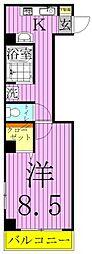 パレスホリケ5[3階]の間取り