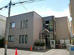 北海道札幌市豊平区美園七条3丁目の賃貸アパートの外観