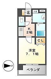 アルバ大須[2階]の間取り