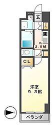 プリフェラブル栄[8階]の間取り