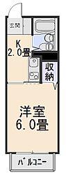 フォーシーズン山田川[1階]の間取り