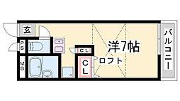 レオパレス熊野[1階]の間取り